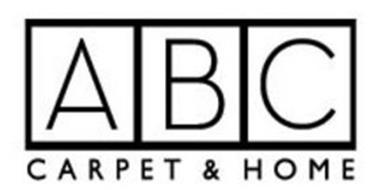 abc carpet home trademark of a b c carpet co inc