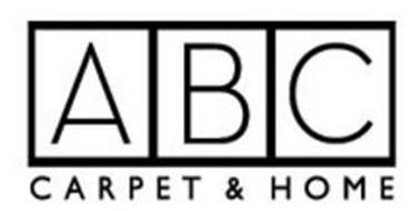 abc carpet home trademark of a b c carpet co inc ForAbc Carpet Home Inc