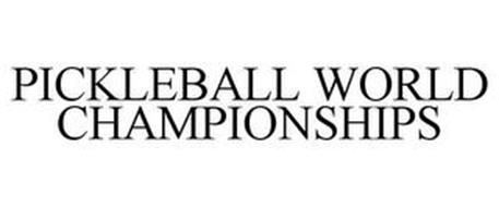 PICKLEBALL WORLD CHAMPIONSHIPS