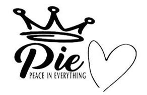 PIE PEACE IN EVERYTHING