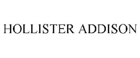 HOLLISTER ADDISON