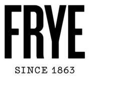 FRYE SINCE 1863