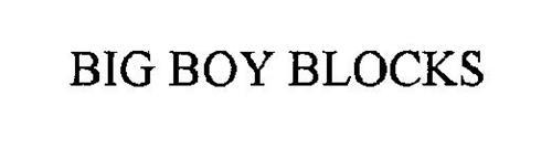 BIG BOY BLOCKS