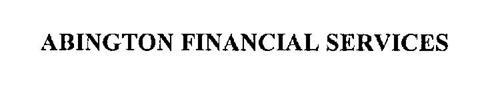 ABINGTON FINANCIAL SERVICES