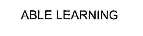 ABLE LEARNING