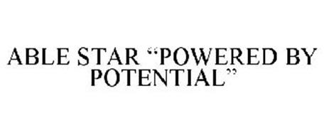 """ABLE STAR """"POWERED BY POTENTIAL"""""""