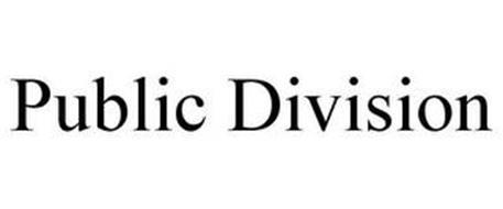 PUBLIC DIVISION