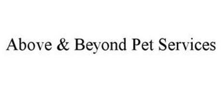 ABOVE & BEYOND PET SERVICES