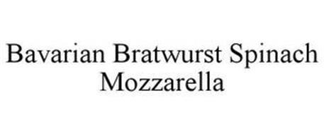 BAVARIAN BRATWURST SPINACH MOZZARELLA