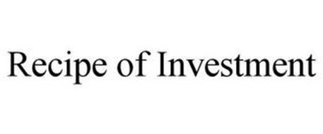 RECIPE OF INVESTMENT