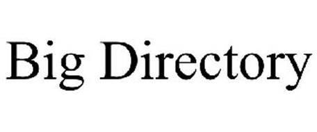 BIG DIRECTORY