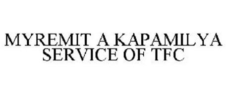 MYREMIT A KAPAMILYA SERVICE OF TFC