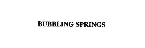 BUBBLING SPRINGS