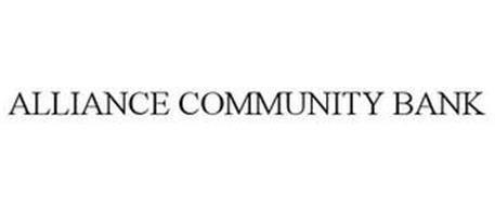 ALLIANCE COMMUNITY BANK