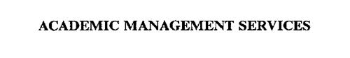 ACADEMIC MANAGEMENT SERVICES