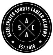 A S C A ACCELERATED SPORTS CAREER ACADEMY EST. 2016