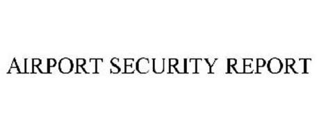 AIRPORT SECURITY REPORT