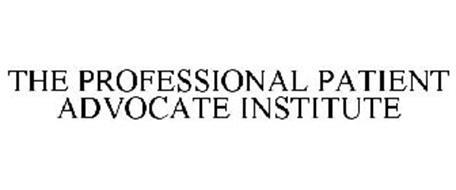 PROFESSIONAL PATIENT ADVOCATE INSTITUTE