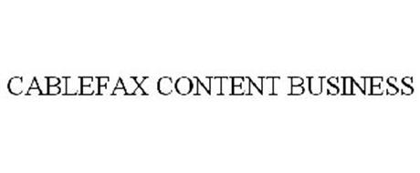 CABLEFAX CONTENT BUSINESS