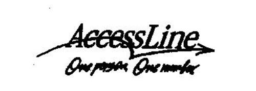 ACCESSLINE ONE PERSON, ONE NUMBER