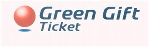 GREEN GIFT TICKET