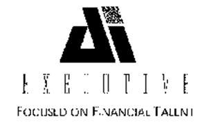 AI EXECUTIVE FOCUSED ON FINACIAL TALENT