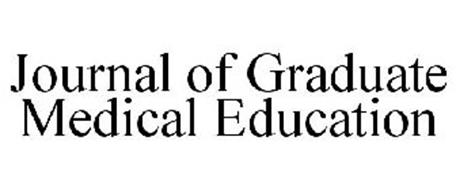 JOURNAL OF GRADUATE MEDICAL EDUCATION