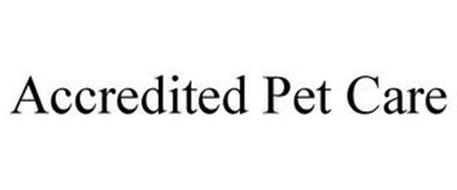 ACCREDITED PET CARE