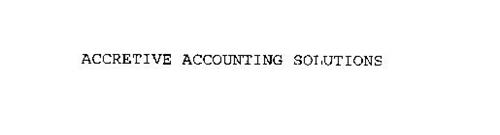 ACCRETIVE ACCOUNTING SOLUTIONS
