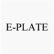 E-PLATE