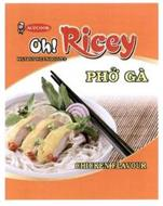 ACECOOK OH! RICEY PHO GÀ CHICKEN FLAVOUR INSTANT RICE NOODLES