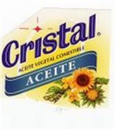 CRISTAL ACEITE VEGETAL COMESTIBLE ACEITE