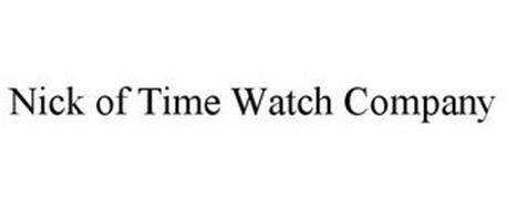 NICK OF TIME WATCH COMPANY