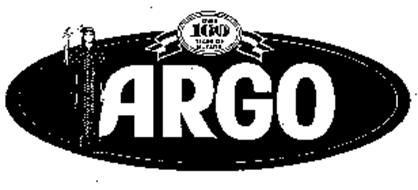 ARGO OVER 100 YEARS OF QUALITY