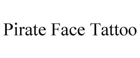 PIRATE FACE TATTOO