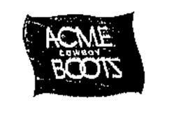 ACME COWBOY BOOTS