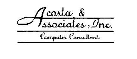 ACOSTA & ASSOCIATES, INC. COMPUTER CONSULTANTS