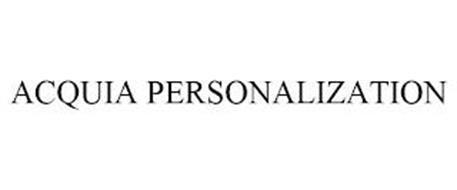 ACQUIA PERSONALIZATION