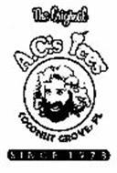 THE ORIGINAL A.C.'S ICES COCONUT GROVE, FL SINCE 1978