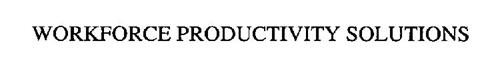 WORKFORCE PRODUCTIVITY SOLUTIONS