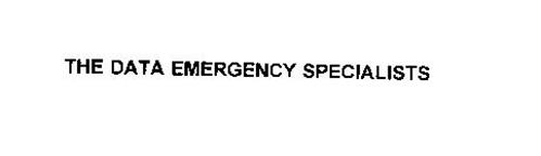 THE DATA EMERGENCY SPECIALISTS