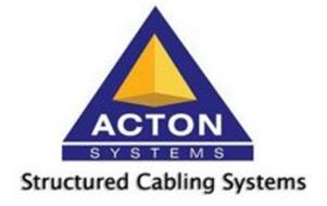 ACTON SYSTEMS STRUCTURED CABLING SYSTEMS