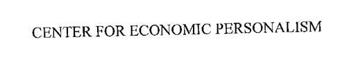 CENTER FOR ECONOMIC PERSONALISM