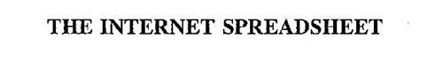 THE INTERNET SPREADSHEET