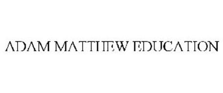 ADAM MATTHEW EDUCATION
