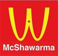 W MCSHAWARMA