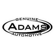 GENUINE ADAMS AUTOMOTIVE