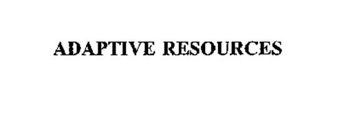 ADAPTIVE RESOURCES
