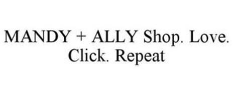 MANDY + ALLY SHOP. LOVE. CLICK. REPEAT