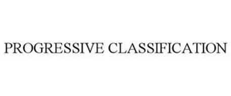 PROGRESSIVE CLASSIFICATION